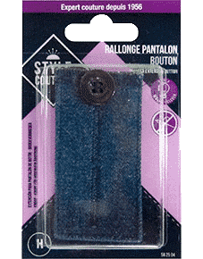 Bouton rallonge pantalon Style Couture