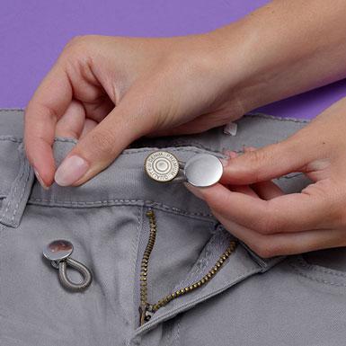 Verleng knop voor broeken