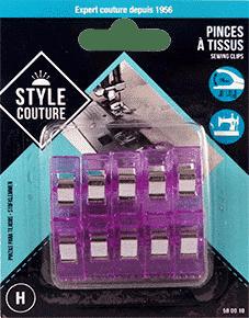 pince tissu