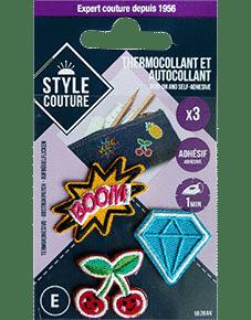 Thermocollants et Autocollants Style Couture