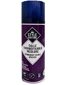Colle thermofixable pour tissu