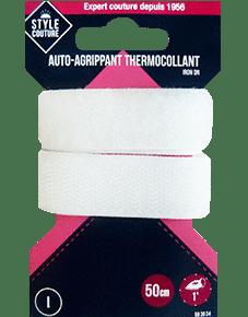 Bande auto-agrippante thermocollante