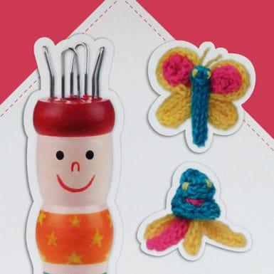 Créer animaux en tricotin