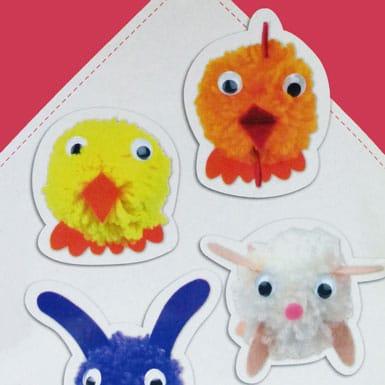 Créer animaux en pompon