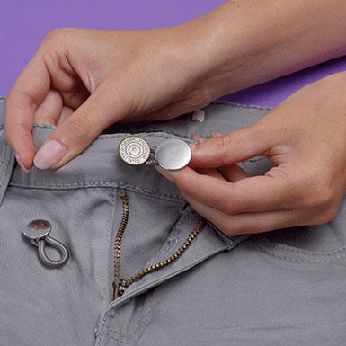 Bouton pour rallonger pantalon