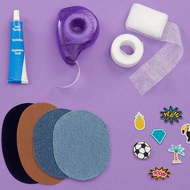 Tissus thermocollants et adhesifs