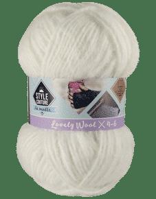 Fil avec laine pour tricoter