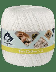 Fil coton à tricoter