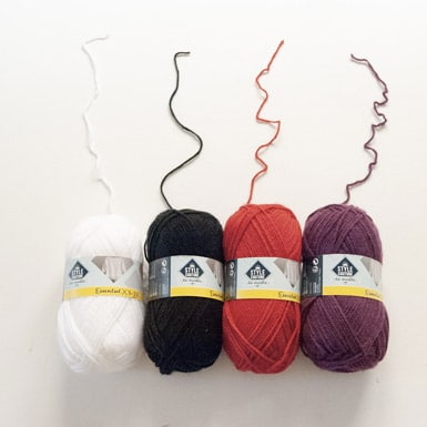 pelote pour tricoter