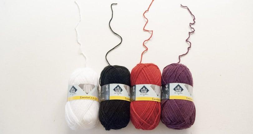 style couture pelote de laine
