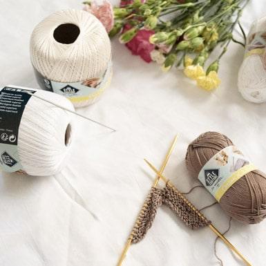 pelotes tricot