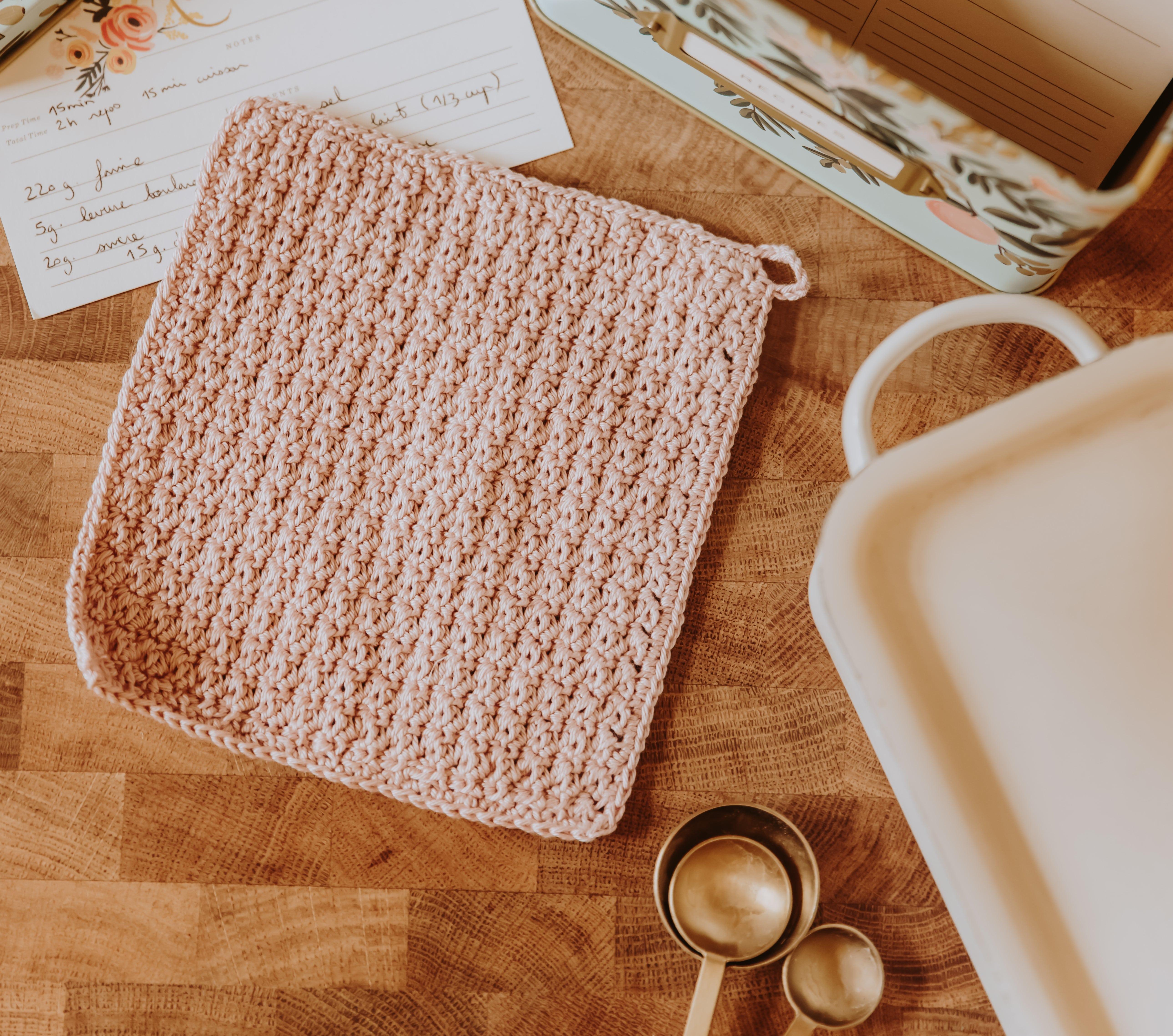 tricoter manique cuisine
