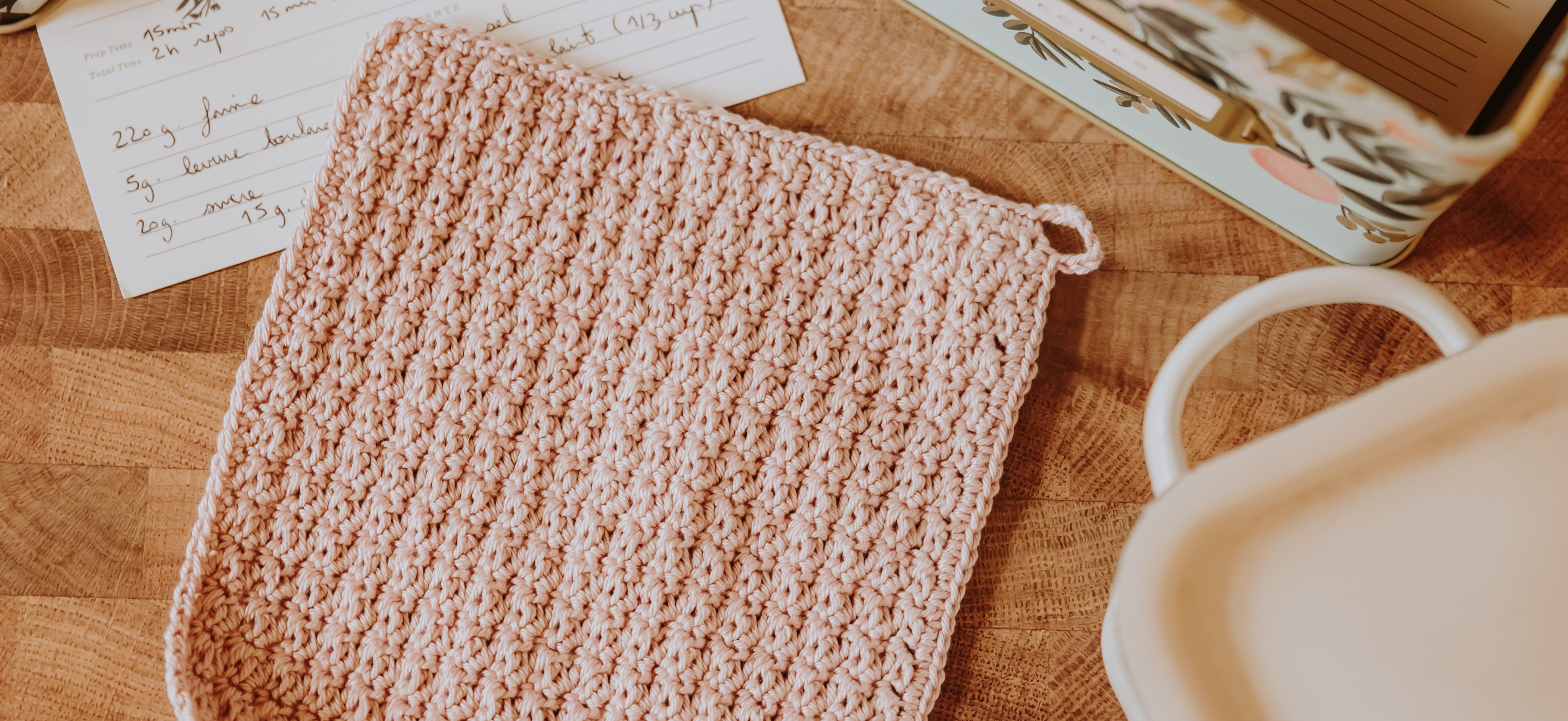 créer manique au crochet